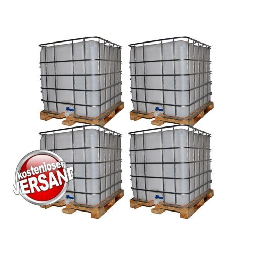 ibc wassertank 1000l auf holzpalette set 52 tanks. Black Bedroom Furniture Sets. Home Design Ideas