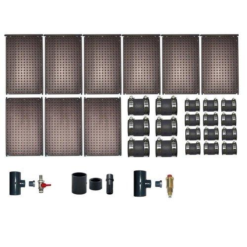 oku solarabsorber set bis 18 m wasserfl che schwimmbadheizung incl 997 99. Black Bedroom Furniture Sets. Home Design Ideas