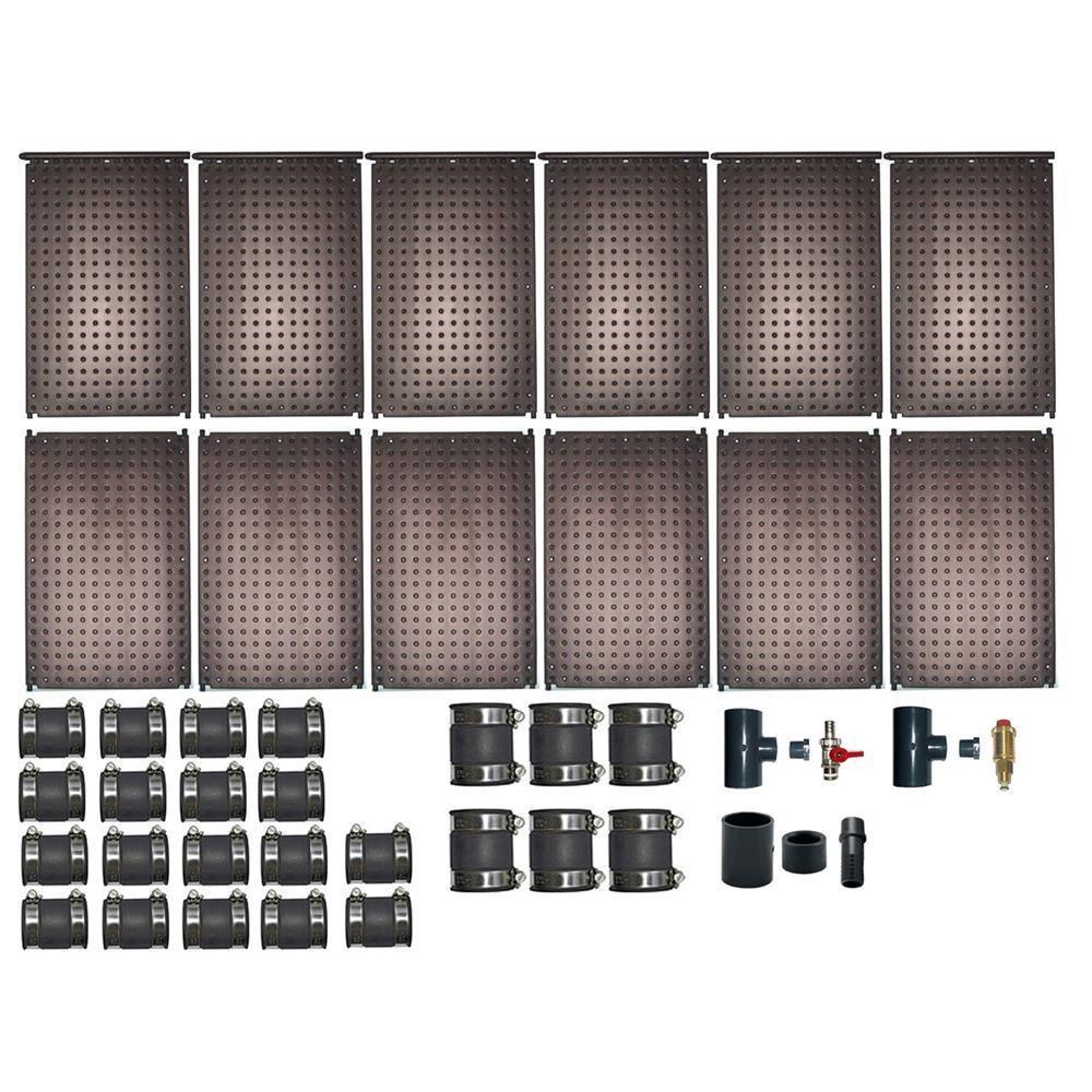 Solarabsorber Schwimmbadheizung Solar Überdachung für Filteranlage € 38,--//m²