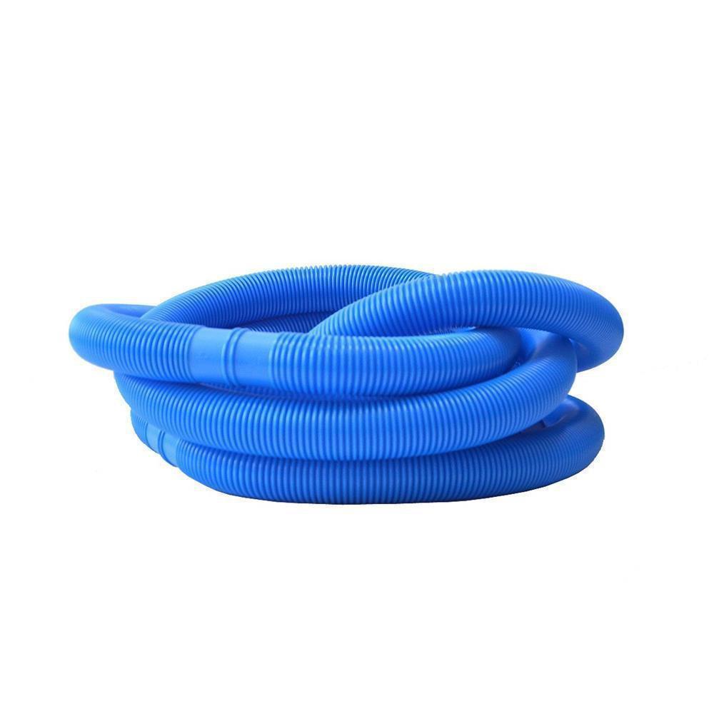 6m 38mm 6 4 schwimmbadschlauch schwimmsaugschlauch blau for Gartenpool kunststoff
